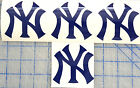 NEW YORK YANKEES  ( NY ) Logo Decal on High Quality Vinyl ( SET OF 4 ) on Ebay