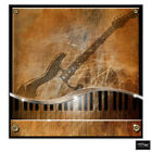 Music Piano/Guitar  Musical BOX FRAMED CANVAS ART Picture HDR 280gsm