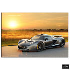 Hennessey Venom GT   Cars BOX FRAMED CANVAS ART Picture HDR 280gsm