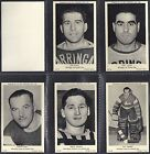 A&BC - ALL SPORTS 1954 ICE HOCKEY SUBJECTS (NUMBERS 035-076) SELECT YOUR CARD.