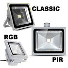 PIR Motion Sensor LED Floodlight 10W/20W/30W/50W Security Outdoor Garden IP65