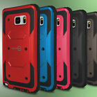 For Samsung Galaxy Note 5 Hybrid Case Tough Hard Phone Cover & Screen Protector