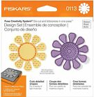 Fiskars 101130-1001 Flower Design Set, Medium - 0113