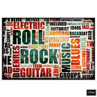 Music   Typography BOX FRAMED CANVAS ART Picture HDR 280gsm