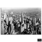 New York Vintage Photo   City BOX FRAMED CANVAS ART Picture HDR 280gsm