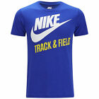 Nike Mens Track and Field T-Shirt - Game Royal Blue - Running Clothing