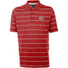 Antigua Cincinnati Reds Men's Deluxe Short Sleeve Polo