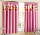 Children's Princess Curtains Light Reducing Thermal Tape Top Pencil Pleat Kids
