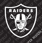 Oakland Raiders vinyl decal sticker car truck motorcycle nfl football $5.99 USD on eBay