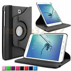 Rotating Smart Case Stand Cover For Samsung Galaxy Tab S2 8.0 8/9.7-inch Tablet