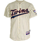Athletic Minnesota Twins Blank Authentic Alternate Home Cool Base Ivory Jersey