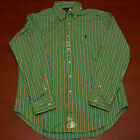 Polo Ralph Lauren Shirt Mens Casual Classic Button Down Pony Logo V129