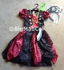 Halloween Girls Pirate Sword Fancy Dress Dressing up Costume Various size NEW
