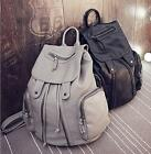 Recent Fashion Women's Leather Faux Travel Satchel Shoulder Backpack School Bags