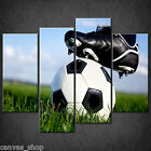 SPORT FOOTBALL KICK OFF CASCADE CANVAS PRINT WALL ART PICTURE READY TO HANG