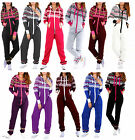Womens Adult Ladies NEW Aztec Printed Hooded One piece All in One Jumpsuit