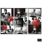 Ali Boxing Gloves  Iconic Celebrities BOX FRAMED CANVAS ART Picture HDR 280gsm