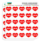 "1"" Scrapbooking Crafting Stickers I Love Heart City Country P-Q"
