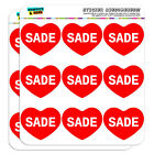 "2"" Scrapbooking Crafting Stickers I Love Heart Names Female S Sabi"