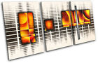 Abstract Pattern Geometric  Collage CANVAS WALL ART Picture Print VA