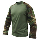 Woodland Camo Tactical Response Military Combat Shirt by TRU-SPEC 2560