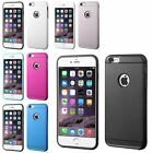 For Apple iPhone 6 Plus/6S Plus Hard Silicone Hybrid Rubberized Case Installed