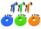 100 FT Feet Latex Deluxe Expanding Flexible Garden Water Hose + Spray Nozzle
