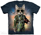 The Mountain TOM CAT Adult Men T-Shirt S-2XL Short Sleeve