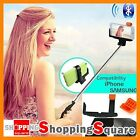 Built-in Shutter Remote Bluetooth Extendable Selfie Stick Unipod for iOS Android