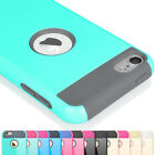 Shockproof Hybrid Rubber Cover Case Skin for Apple iPod Touch 5 5th / 6 6th Gen