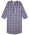 New Men's Comfortable Nightshirt Gown Long Sleeve Size M-L-XL-2XL-3XL
