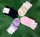 Womens Ladies Girls Silk Ankle Socks One Size Fits Most AF491