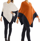 CAPE PONCHO MOHAIR WOLLE FLAUSCHIGE BATWING - ÄRMEL PULLI ZIPFEL GR.36-44 FP 121