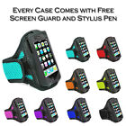 Sports Jogging Gym Running Armband Holder Case Cover Pouch For Motorola Moto G