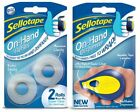 Sellotape On-Hand Dispenser and Clear Refill Tape - FREE 1ST CLASS POSTAGE