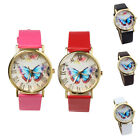 High Quality  Rose Gold Plated Butterfly Pattern Fashion Women Watches
