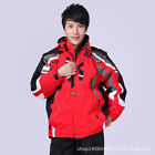 Winter outdoor skiing men set warm ski jacket outdoor sports