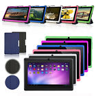 """7"""" A33 Quad Core Google Android 4.4 wifi 8gb Dual Camera Tablet PC w/ Case Cover"""