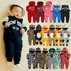 "Vaenait Baby Kids Boy Girls Romper Fleece Outfit Jumpsuit Outwear ""Baby Fleece"""