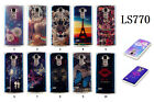 Bluelight Soft TPU Patterns Silicone Skin Case Cover For LG G Stylo Stylus LS770