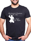 MECHANICAL ENGINEER BY DAY NINJA BY NIGHT PERSONALISED T SHIRT
