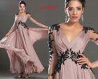 eDressit Hot Sale Sexy V Cut Evening Dress Party Prom Ball Gown UK 6-20