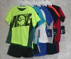 Nike little boys' 2-piece tee & shorts set short sleeves size 2T, 3T, 4T, 4 NEW