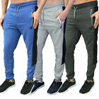 Mens Designer Kangol Skinny Slim Joggers Fleece Jogging Sweat Pants Bottoms Gym