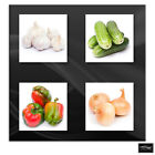 Fresh Vegetable Food Kitchen BOX FRAMED CANVAS ART Picture HDR 280gsm