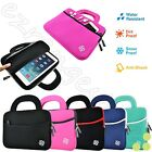 Slim Sleeve Portfolio Handle Carry Case Bag for Kids Android LeapFrog Tablet