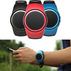 Sport Wrist Watch Handsfree Remote Photo Mini Wireless Bluetooth Speaker w/ Mic