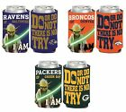 NFL Assorted Teams Wincraft Star Wars Yoda Insulated Can Cooler NEW! $9.99 USD on eBay