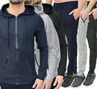 Mens GA Hoodie Sweat Top Skinny Slim Jogging Jog Bottoms Designer Branded Size
