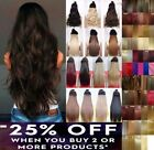 5 Clips In On Half Full Head Curly Wavy Straight 1pc Hair Extensions Like Human